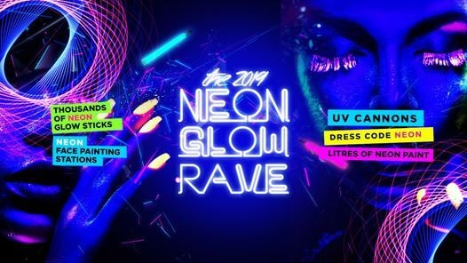 Neon Glow Rave - Derby Freshers 2019 - 75% Sold Out!, 20 September | Event in Derby | AllEvents.in