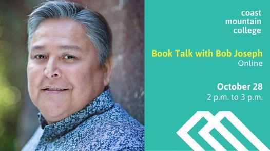Book and Indigenous Talk with Bob Joseph, 28 October | Online Event | AllEvents.in
