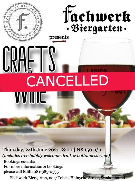 Crafts & Wine, 24 June   Event in Swakopmund   AllEvents.in