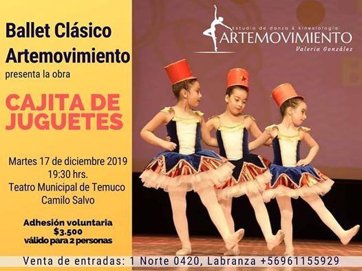 "Gala Anual Artemovimiento ""Cajita De Juguetes"""