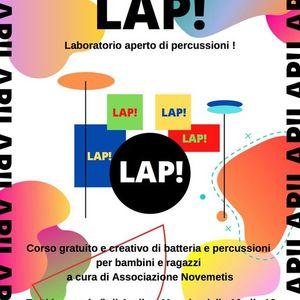 LAP laboratorio aperto di percussioni