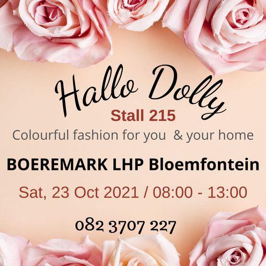 Hallo Dolly at Boeremark Bloemfontein 23 Oct 2021   Event in Bloemfontein   AllEvents.in