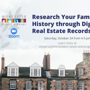 Research Your Family History through Digital Real Estate Records