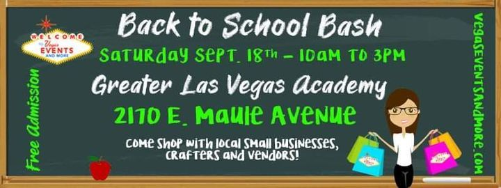 Back to School Bash | Event in Henderson | AllEvents.in