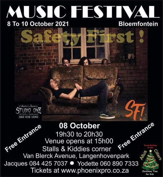Music Festival with Jo Black and more, 8 October | Event in Bloemfontein | AllEvents.in