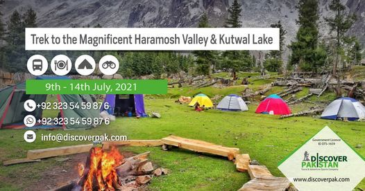 Trek to the Magnificent Haramosh Valley & Kutwal Lake, 9 July   Event in Islamabad   AllEvents.in