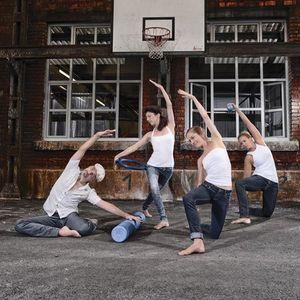 Pilates & Kleingerte Roller Toning Balls Magic Circle