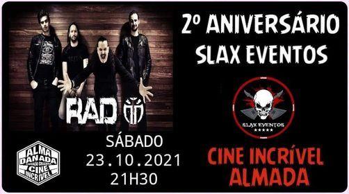 RAD - Rock All Day - Slax Eventos Birthday // 10€, 23 October | Event in Almada | AllEvents.in