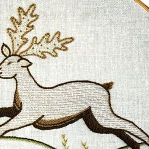 Introduction to Embroidery Traditional Animal