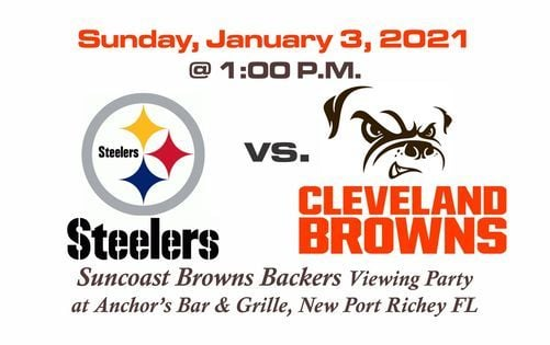 Steelers vs Browns Game Viewing, 3 January | Event in New Port Richey | AllEvents.in