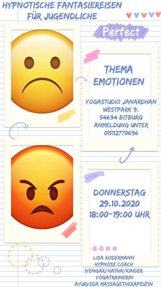 Hypnotische Fantasiereise für Jugendliche ~ Thema Emotionen, 29 October | Event in Trier | AllEvents.in