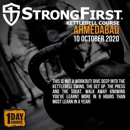 StrongFirst Kettlebell Course Ahmedabad