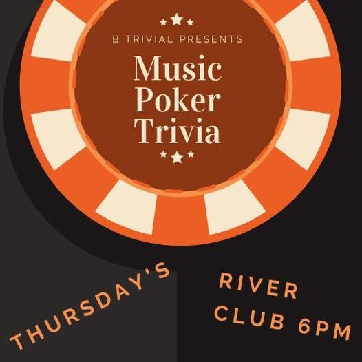 MUSIC  POKER   TRIVIA hosted by B Trivial, 3 November   Event in Bradenton   AllEvents.in
