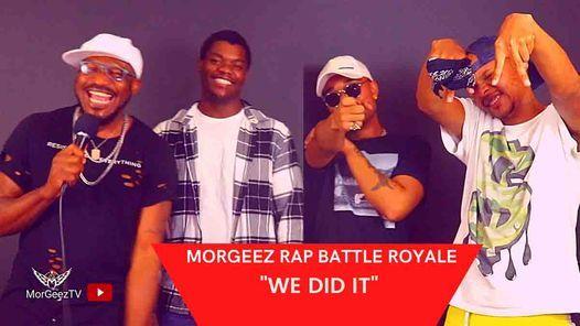 MORGEEZ RAP BATTLE ROYALE 2, 4 September | Event in Randburg | AllEvents.in