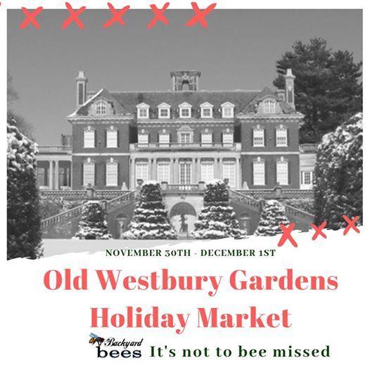 Westbury Gardens Events Christmas: Old Westbury Gardens Holiday Market