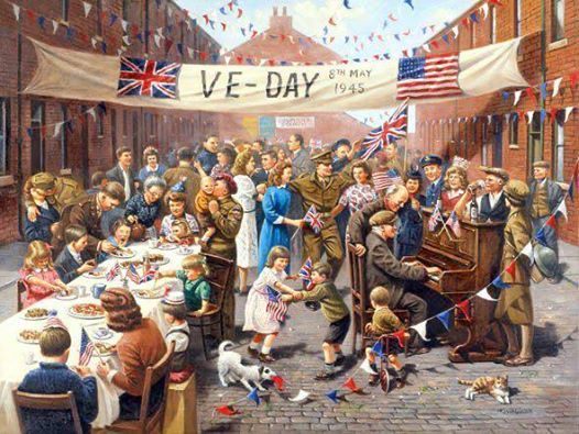VE Day Celebration Parade