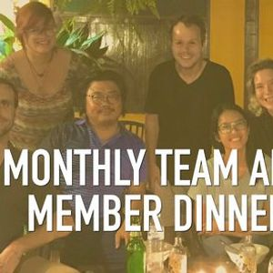 Monthly Team and Member Dinner - Real Talk Chiang Mai