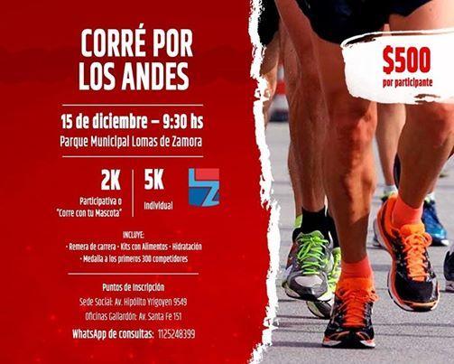 Corre por Los Andes