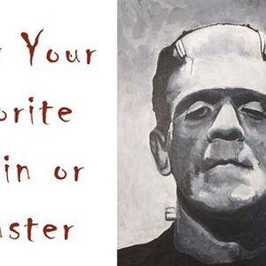 Paint Your Favorite Villain or Monster Event