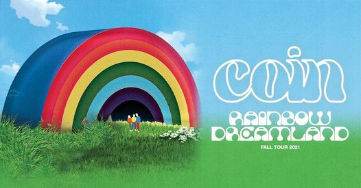COIN: Rainbow Dreamland Tour, 15 November | Event in San Diego | AllEvents.in