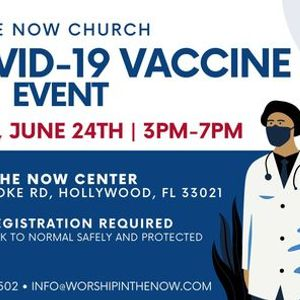Free COVID Vaccination Pop-up Event