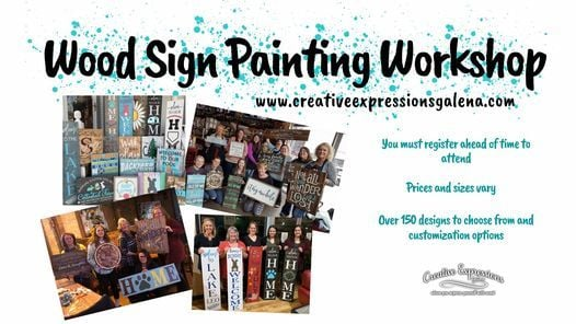 Des Moines, IA - Wood Sign Painting Workshop at Saints Pub, 9 December   Event in Urbandale   AllEvents.in