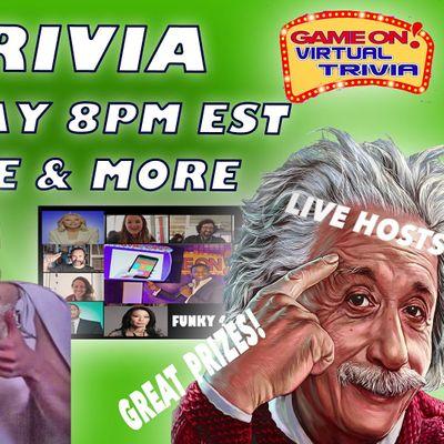 Game On Virtual Trivia Night