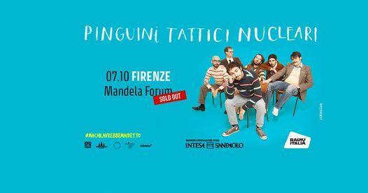Pinguini Tattici Nucleari - 07.10 - Firenze, 7 October   Event in Florence   AllEvents.in