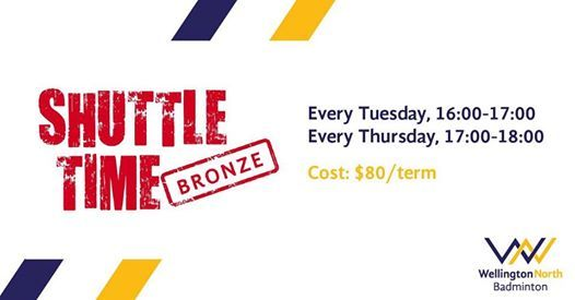 Shuttle Time Bronze Programme - Term 3