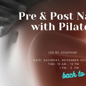 Pre & Post Natal with Pilates