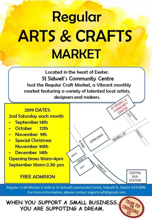 Regular Arts and Crafts Market