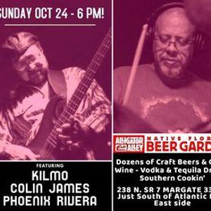Sunday PRO BLUES & JAZZ JAM at Alligator Alley