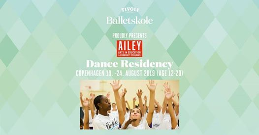 Ailey Arts In Education Dance Residency (Age 15 - 20)