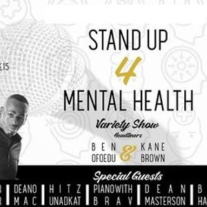 Stand up 4 mental health Variety Show at the Gaiety Southsea South Parade Pier Featuring Ben Efoedo and Kane Brown