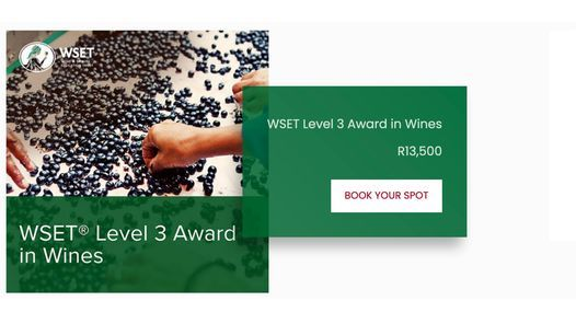 WSET Level 3 Award in Wines, 22 February | Event in Johannesburg | AllEvents.in