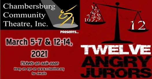 Twelve Angry Jurors | Event in Chambersburg | AllEvents.in