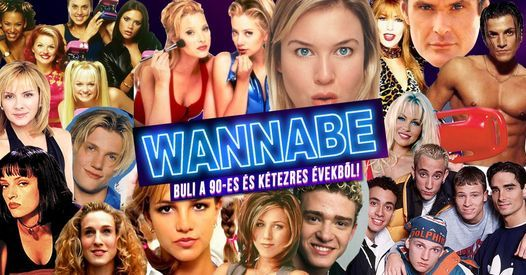 Wannabe Matiné ✘ '90S & '00S ✘ Szeged ✘ Retro Klub, 13 March | Event in Szeged | AllEvents.in