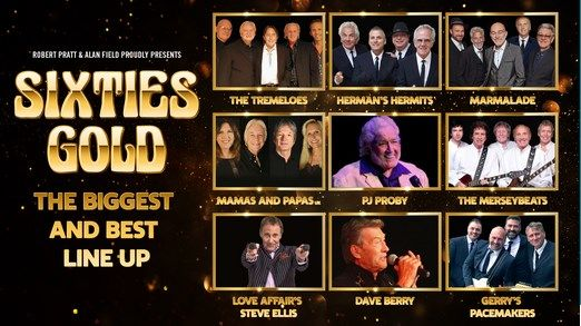 Sixties Gold – The Ultimate Line Up, 23 October | Event in Peterborough | AllEvents.in