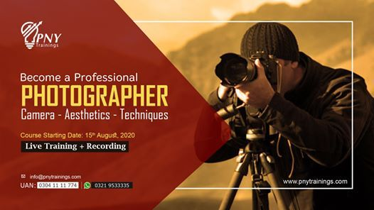 Become a Professional Photographer (Beginner to Pro)