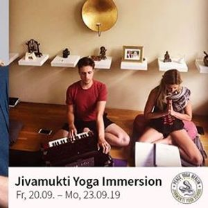 Jivamukti Immersion with Rima Rabbath & Moritz Ulrich