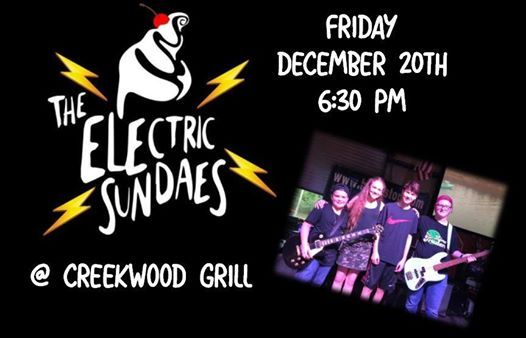 The Electric Sundaes live at Creekwood Grill