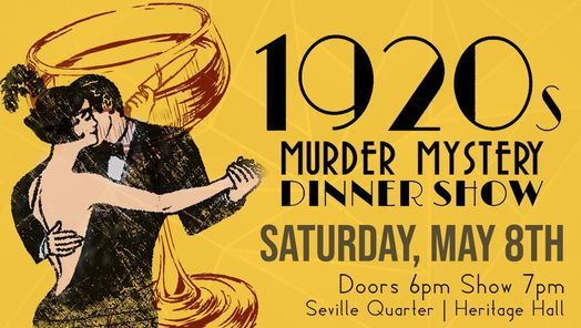 1920's M**der Prohibited Dinner Show | Event in Pensacola | AllEvents.in