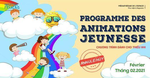 Chương trình dành cho thiếu nhi - Tháng 2   Programme des animations jeunesse - Février   AllEvents.in