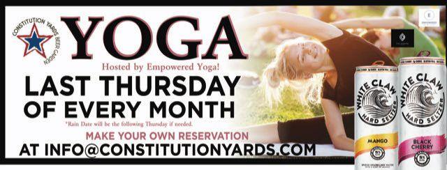 Free Yoga at the Yards