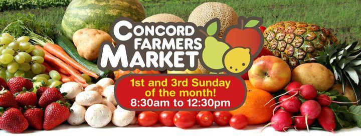 Concord Farmers Market | Event in Alexandria | AllEvents.in