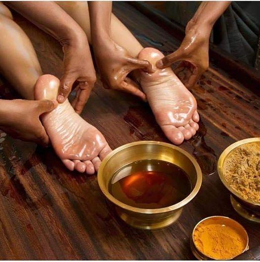 Apprentissage du Massage Ayurvdique