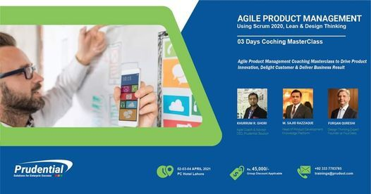 Agile Product Management MasterClass - Design & Deliver Better Products, 4 June | Event in Lahore | AllEvents.in