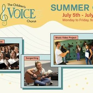 The Childrens Voice Summer Camp Making the Music Video