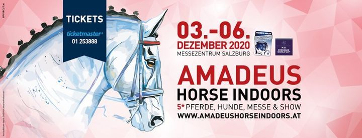 Amadeus Horse Indoors 2020, 3 December   Event in Salzburg   AllEvents.in