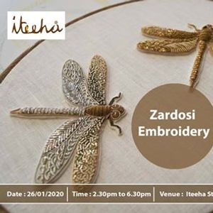 Zardosi Embroidery